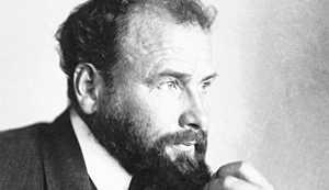 Zdjęcie Gustava Klimta - fragment