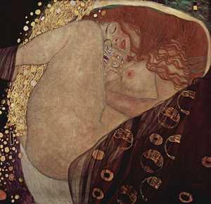 Obraz Klimta - Danae
