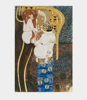 Klimt - Fryz Beethoven - Wrogie siły - Trzy Gorgony
