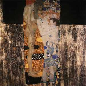 Obraz Klimta - Trzy okresy życia kobiety - The Three Ages of Woman