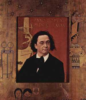 Obraz Klimta - Pianista Joseph Pembauer