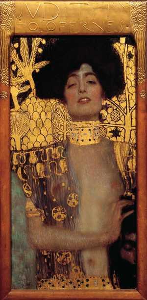 Obraz Gustava Klimta - Judyta I