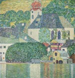 Obraz Klimta - Kościół w Unteracht