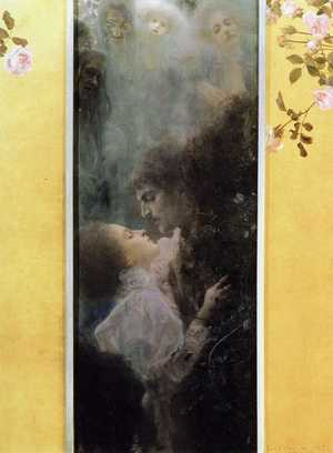 Obraz Klimta - Miłość