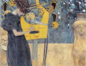 Obraz Klimta - Muzyka