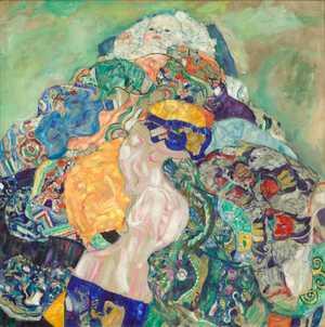 Obraz Klimta - Niemowlę - Baby (Cradle)