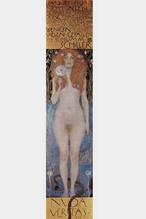 Obraz Gustava Klimta - Nuda veritas