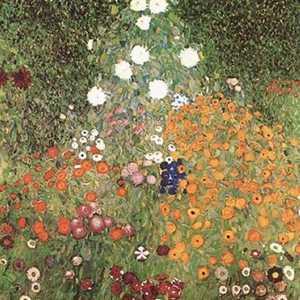 Obraz Gustava Klimta - Ogród kwiatowy