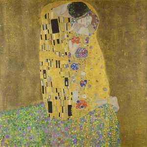 Obraz Gustava Klimta - Pocałunek - The Kiss - Der Kuß