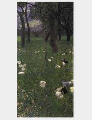 Obraz Klimta - Po deszczu