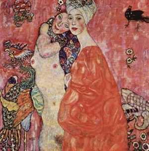 Obraz Gustava Klimta - Przyjaciółki - The Girlfriends