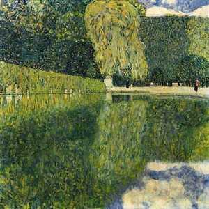 Obraz Klimta - Park Schonbrunn -Schönbrunner Schlosspark