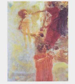 Obraz Klimta -Medycyna - studium