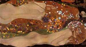 Gustava klimta obraz - Węże wodne