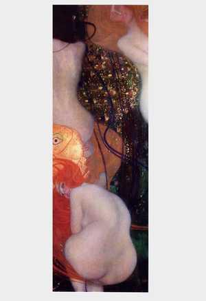 Obraz Klimta - Złote ryby