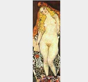 Adam i Eva - obraz Klimta