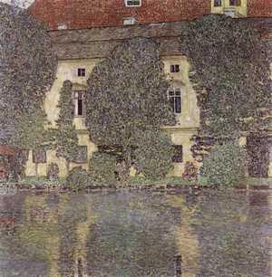 Schloss Kammer nad Attersee III  - obraz Klimta