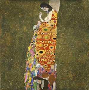 Obraz Klimta - Nadzieja II -The Hope II- okres złoty